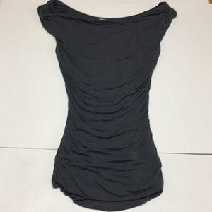 H&M swoop layered shirt